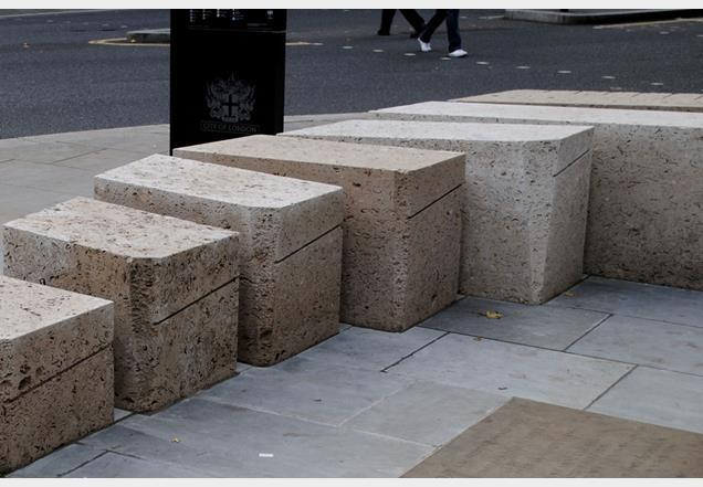 Chris Dove and Craig Mitchell's design for a piece of public furniture/sculpture at Cheapside